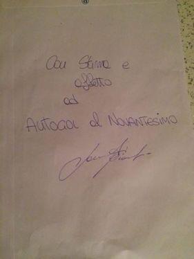 """Con stima ed affetto ad Autogol al Novantesimo, Gianluca Laurenti"""