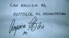 """""""Con amicizia ad Autogol al Novantesimo, Cinquini Mattia 90"""""""
