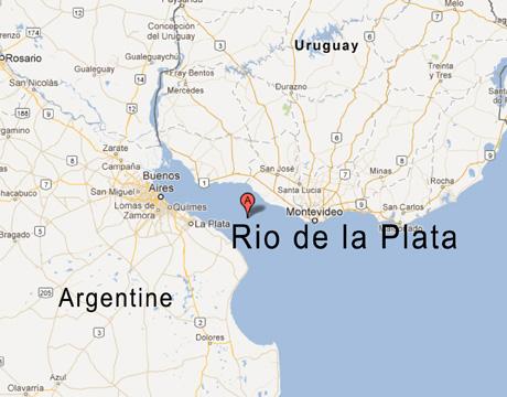 rio de la plata - Google Maps