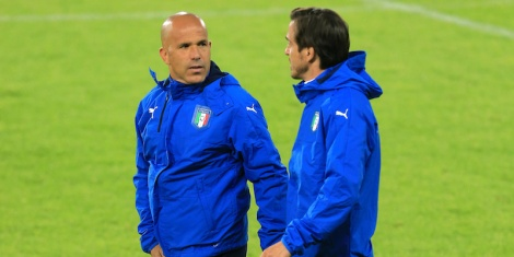 Italy U21 Training Session and Press Conference