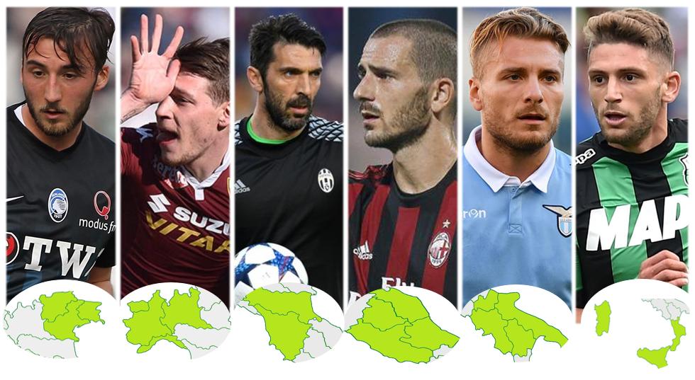 Il campionato delle regioni italiane: rose, risultati e classifica dopo 16 giornate