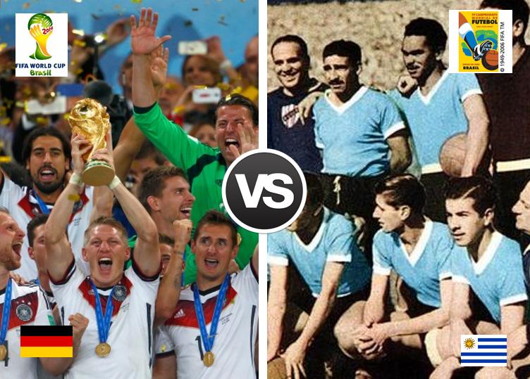 SuperMondiale – 1° turno: Germania 2014-Uruguay 1950, VOTA E SCEGLI IL VINCITORE